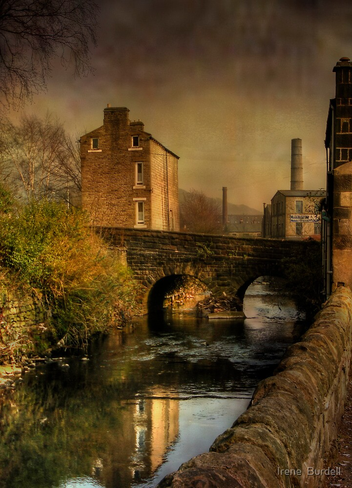 Old Mills by Irene  Burdell
