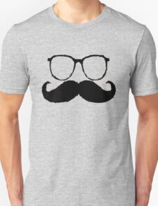 Funny Face Mustache T-Shirt