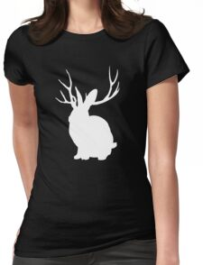 The Rabbit Womens Fitted T-Shirt