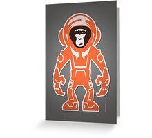 Monkey Crisis On Mars Greeting Card