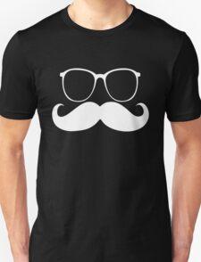 Funny mustache glasses T-Shirt