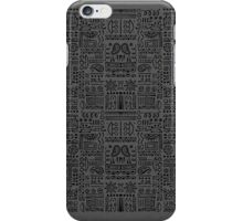 Doodled - Muted iPhone Case/Skin