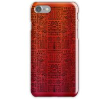 Doodled - The Royal Reds iPhone Case/Skin