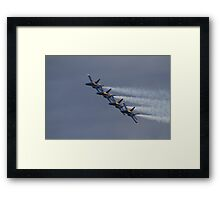 the Smoky Four Framed Print