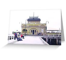 Beach shots Melbourne Greeting Card