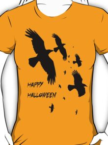 Happy Halloween Murder of Crows T-Shirt