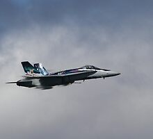 Royal Canadian Air Force F-18 Hornet by fototaker
