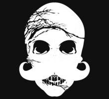 Halloween skull mustache by Nhan Ngo