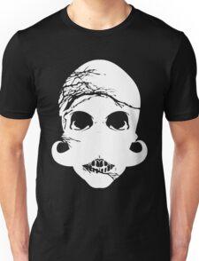 Halloween skull mustache Unisex T-Shirt