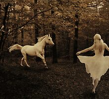 The White Horse (Image and Verse) by Sea-Change