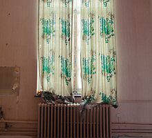 The unknown behind the curtain by Alina Uritskaya
