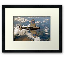 Battle of Britain Spitfire Framed Print