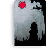 beauty of dark... Canvas Print