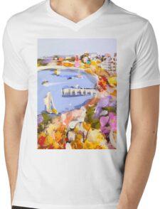 The jetty Mens V-Neck T-Shirt