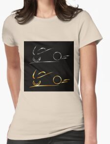 Abstract drawing of motorbike  T-Shirt