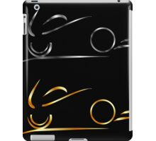 Abstract drawing of motorbike  iPad Case/Skin
