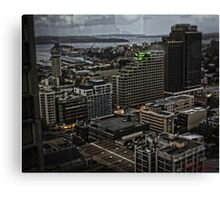 Dusk over Kings Cross (Sydney) Canvas Print