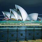 Trails of a Sydney Ferry by Alexander Kesselaar