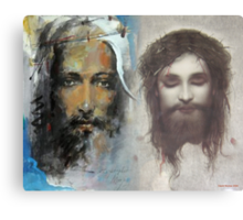Son of God, Son of Man Canvas Print