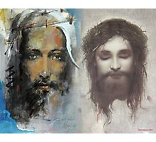 Son of God, Son of Man Photographic Print