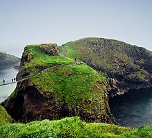 Carrick-a-Rede Rope Bridge by Michelle McMahon
