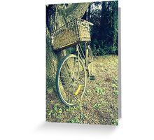 Vintage Bicycle Greeting Card