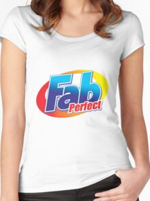 FAB T for Adults Women's Fitted Scoop T-Shirt
