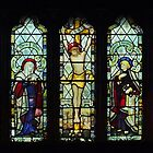St Peters Window Melverley Shropshire  by Yampimon