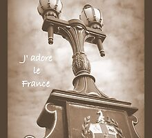 J'adore le france by Leigh Kerr