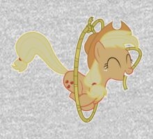 Applejack Lasso Trick Without Text Baby Tee