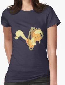 Applejack Lasso Trick Without Text Womens Fitted T-Shirt