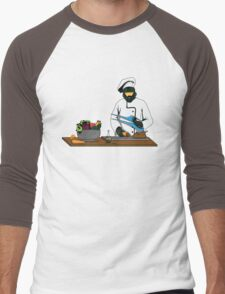 Master Chief / Chef ? Men's Baseball ¾ T-Shirt