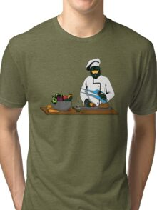 Master Chief / Chef ? Tri-blend T-Shirt