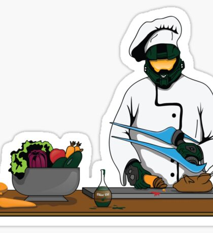 Master Chief / Chef ? Sticker