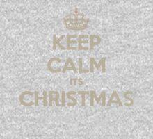 Keep calm its christmas One Piece - Long Sleeve