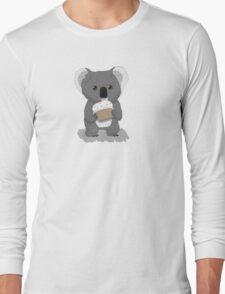 Koala and Cupcake Long Sleeve T-Shirt