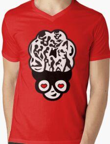 Kama kama Mens V-Neck T-Shirt