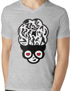 Kama kama Mens V-Neck T-Shirt