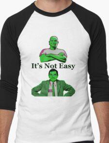 It's Not Easy Men's Baseball ¾ T-Shirt