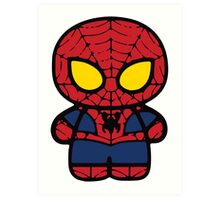 Spiderman! Art Print