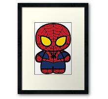 Spiderman! Framed Print