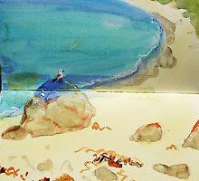 wineglass bay, tasmania by donna malone