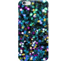 Black Glitter Tumblr Inspired  iPhone Case/Skin