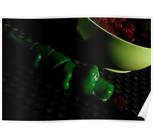 Raspberry crocodile Poster