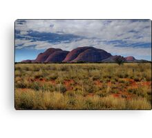 The Olgas from afar Canvas Print