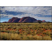 The Olgas from afar Photographic Print