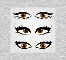Different types of womens eyes Womens Fitted T-Shirt