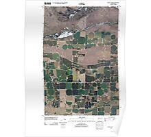 USGS Topo Map Washington State WA Royal Camp 20110407 TM Poster
