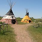Tipi's at Fort Whyte style 2 by winnipegmike