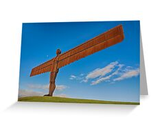Angel of The North Greeting Card